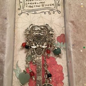 Ornate Chinese Style Charm Hair Stick/Bookmark.